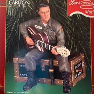 New Elvis Christmas Ornament